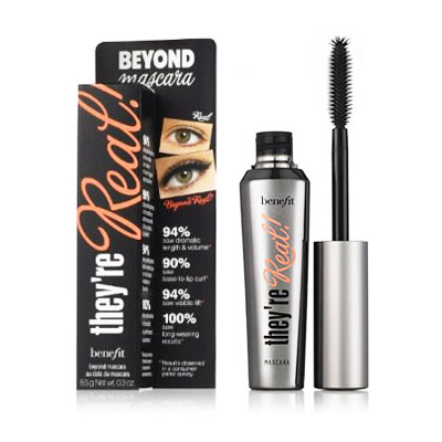 New Mascara Review of They're Real from Benefit