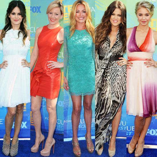 Nude Shoes at 2011 Teen Choice Awards