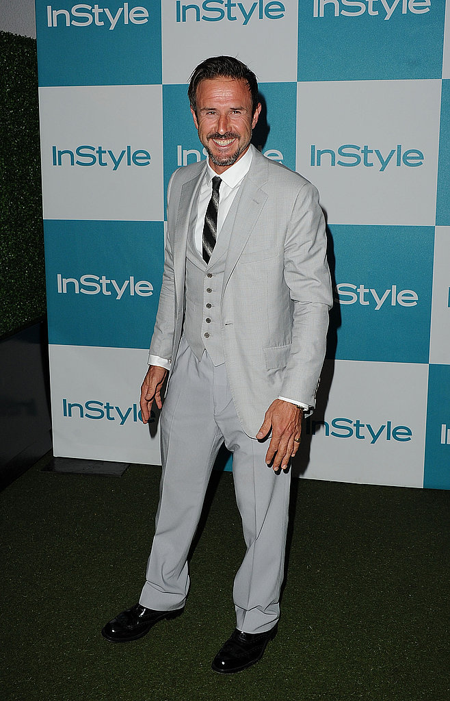 David Arquette at the 10th annual InStyle Summer soiree.