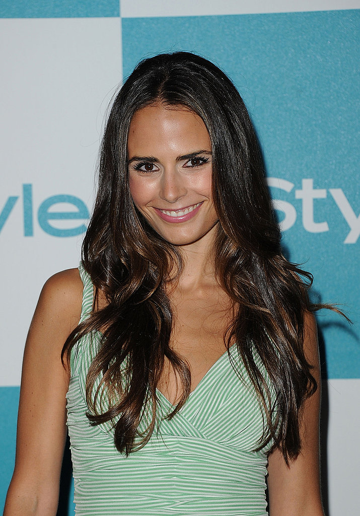 Jordana Brewster smiles at the 10th annual InStyle Summer soiree.