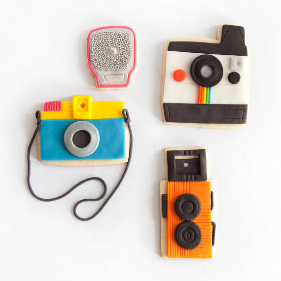 Camera Cookie Gift Box