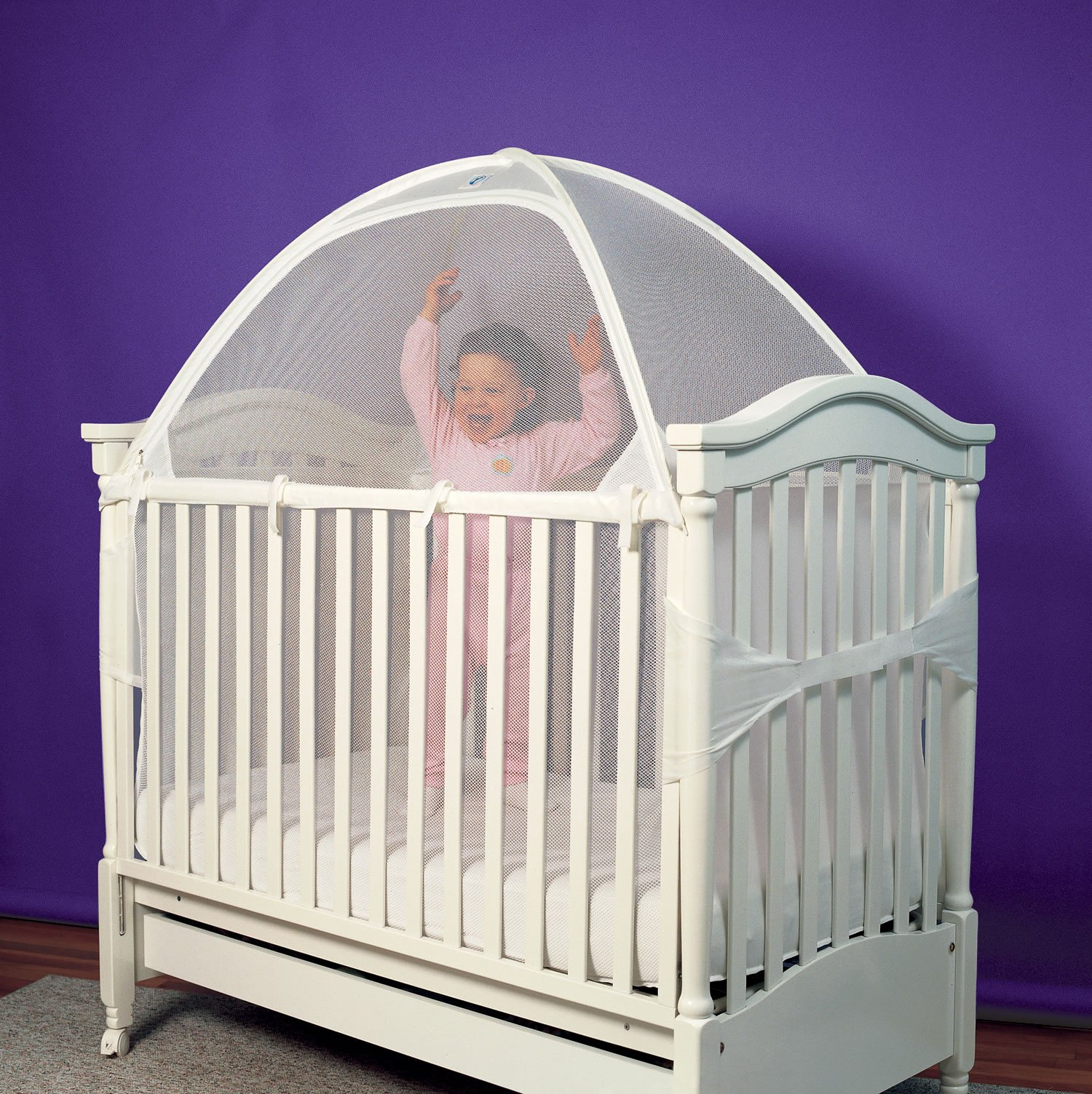 Install a Crib Tent | 5 Ways to Keep Kids in Their Cribs ...