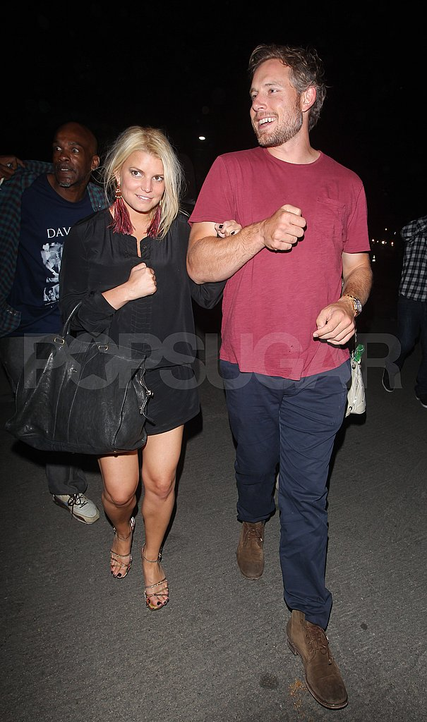 Jessica Simpson and Eric Johnson night out in LA.