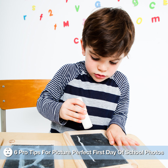 Shutterbug: 6 Pro Tips For Picture-Perfect First-Day-of-School Photos