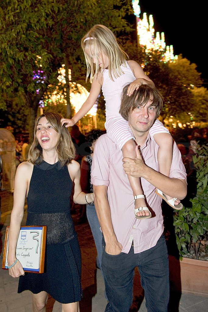 Thomas Mars, Sofia Coppola, and Romy Mars stepped out with family.