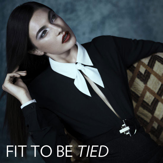 Fall Shopping: Channel the Ladylike Trend With a Bow Tie Blouse