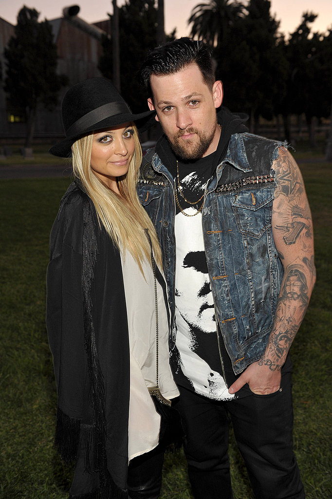Nicole Richie and Joel Madden at Band of Outsiders event in LA.