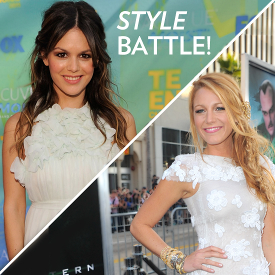 Fashion Faceoff — Rachel Bilson vs. Blake Lively!