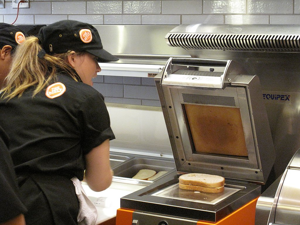 The latest grilled cheese technology