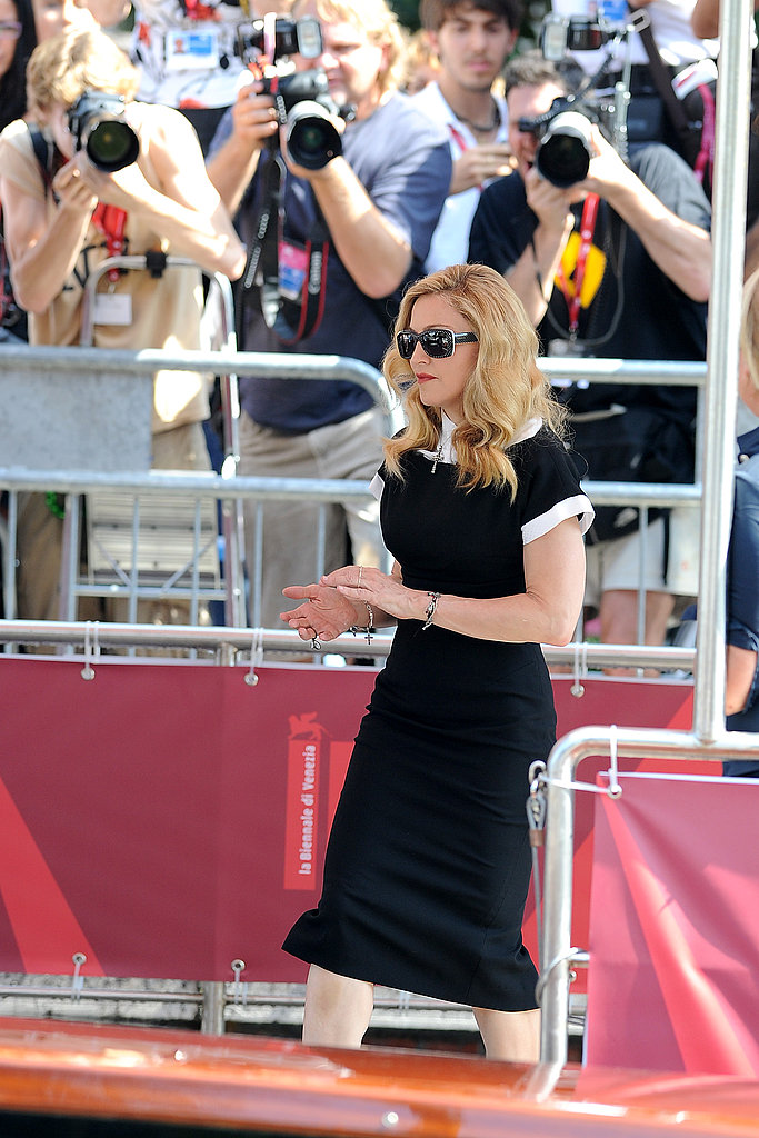 Madonna attended a W.E. photocall.