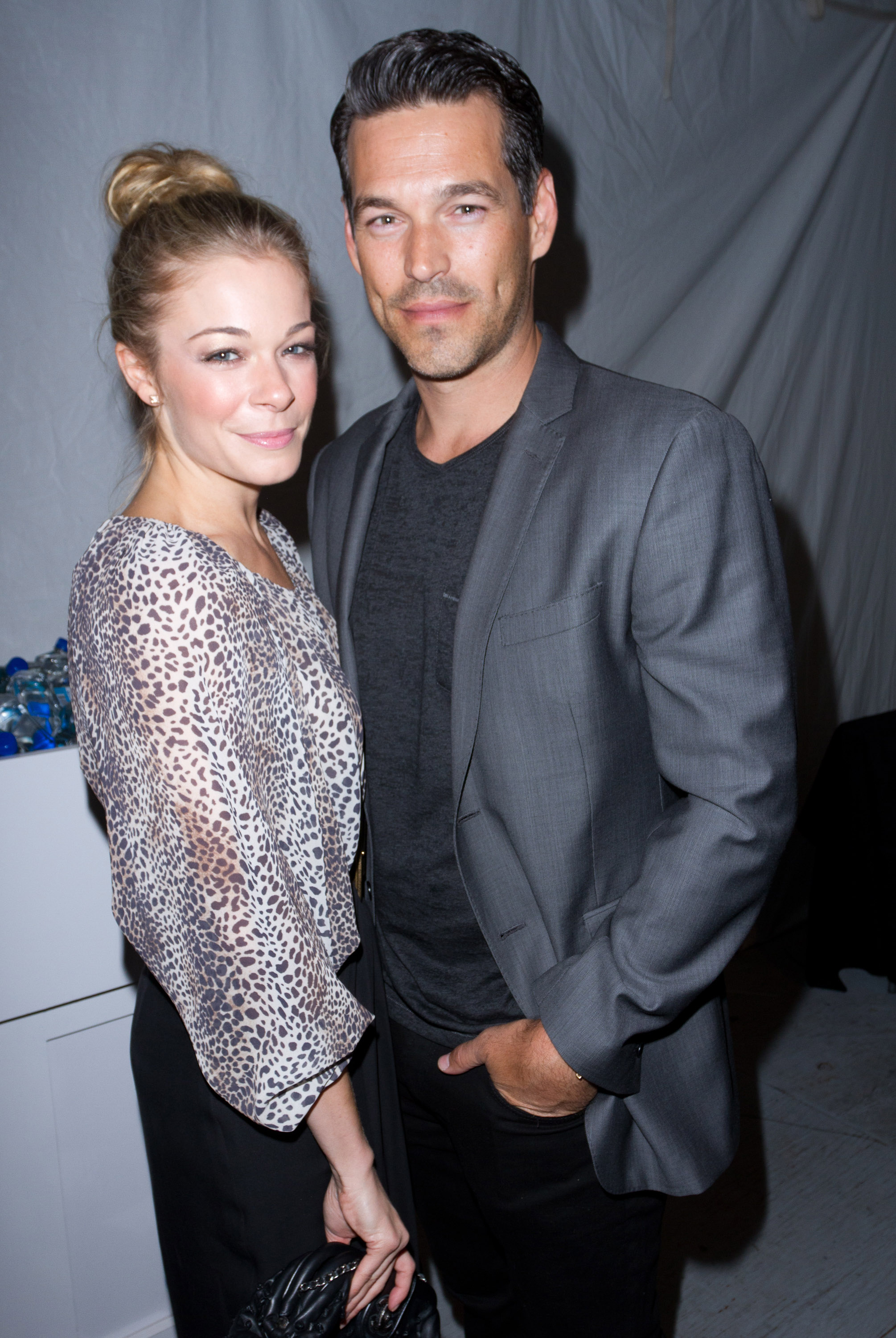 LeAnn Rimes and Eddie Cibrian at Lincoln Center.