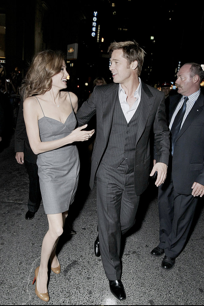 Angelina Jolie stuck by Brad Pitt's side at the premiere of 2007's The Assassination of Jesse James by the Coward Robert Ford.