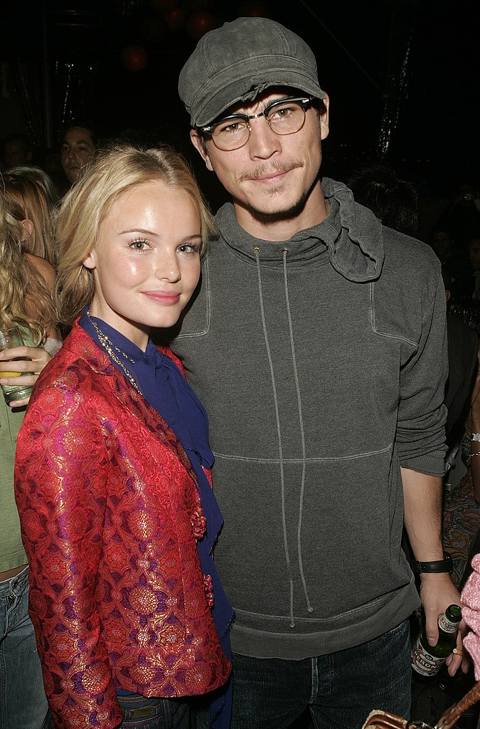 Kate Bosworth and Josh Hartnett posed together during the February 2004 festivities.