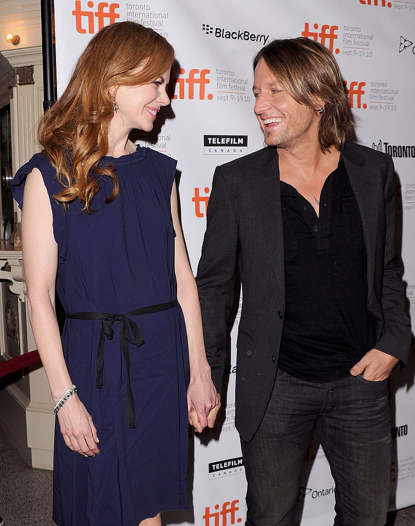 Keith Urban joined Nicole Kidman at the 2010 screening of her drama Rabbit Hole.