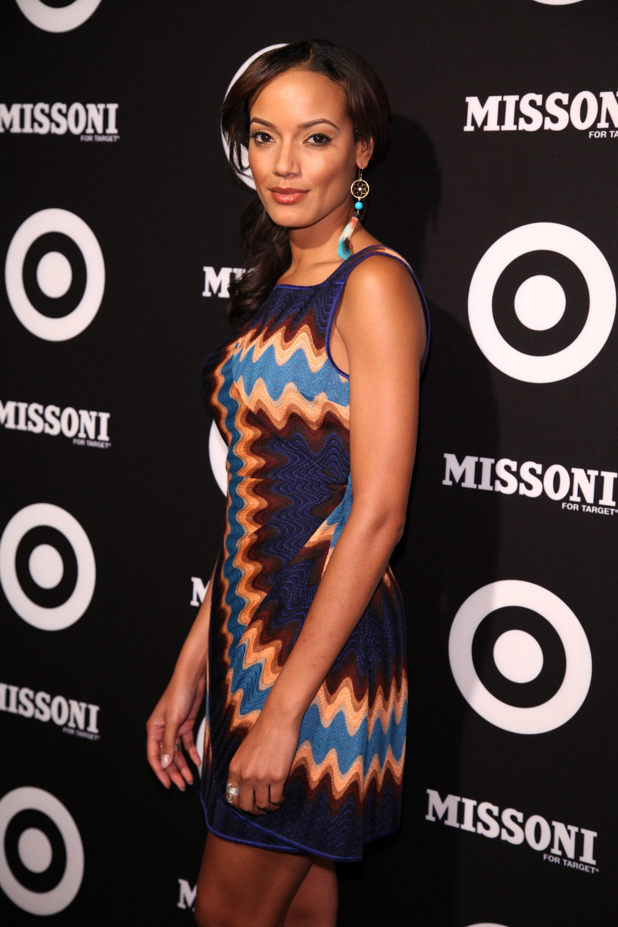 Selita Ebanks posed in Missoni.