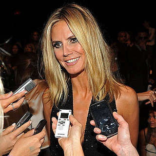 Heidi Klum at Project Runway Fashion Show Pictures