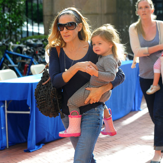 Sarah Jessica Parker at Barnard College With Family Pictures