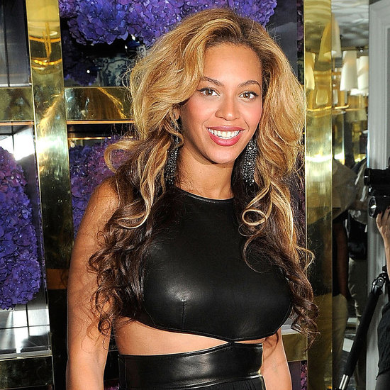Beyonce at Tory Burch NYC Store Opening Pictures