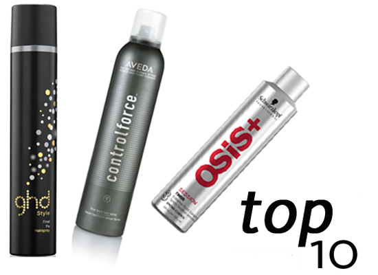 Ten of the Best Strong-Hold Hairsprays to Hold Your Hairstyle