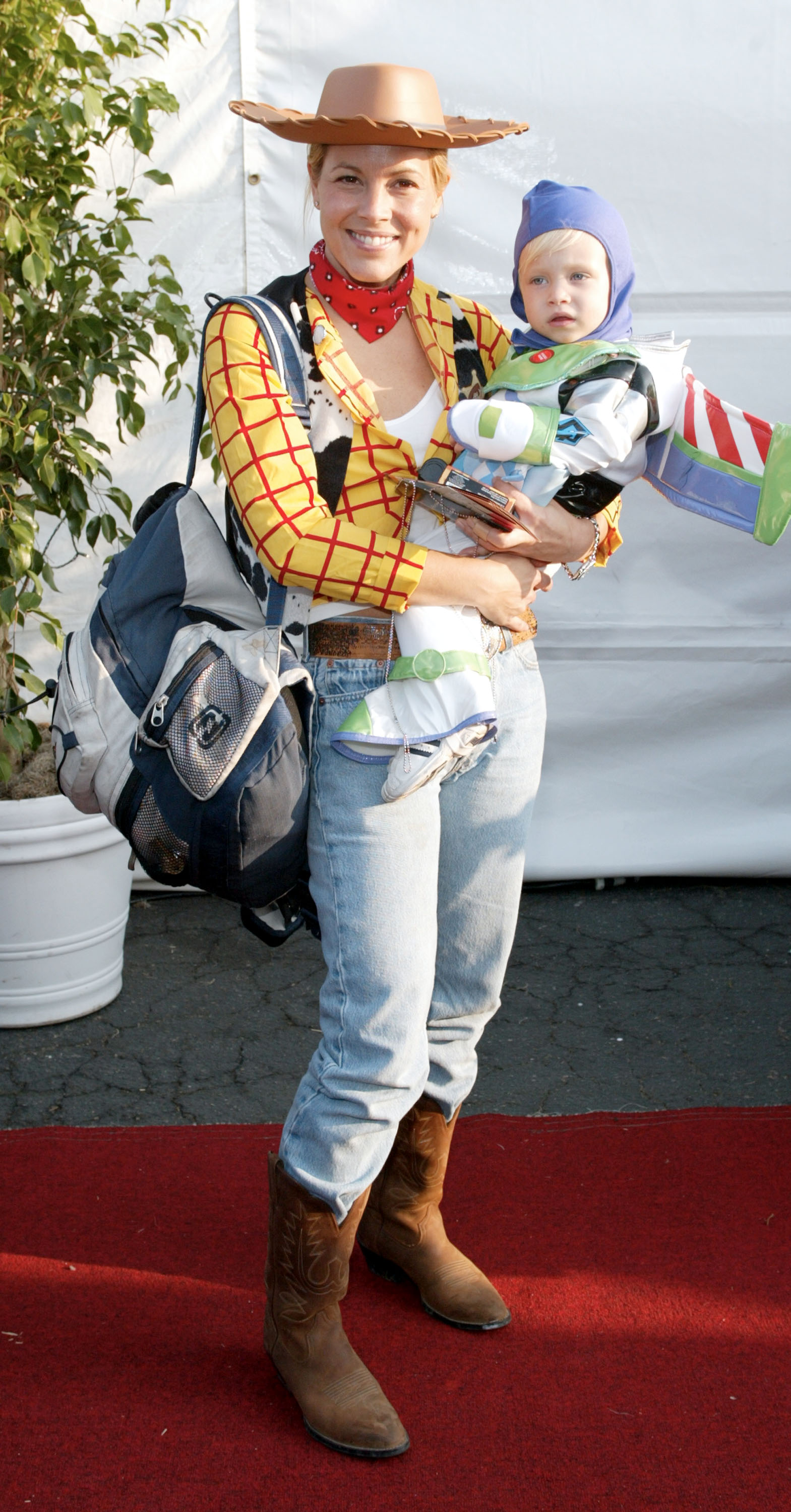 Maria Bello and Son Jackson Blue McDermott   Ghosts of ...
