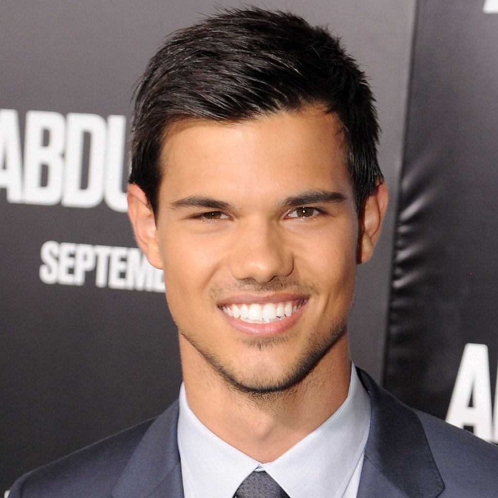 Taylor Lautner Interview on Breaking Dawn and Brad Pitt | POPSUGAR ...