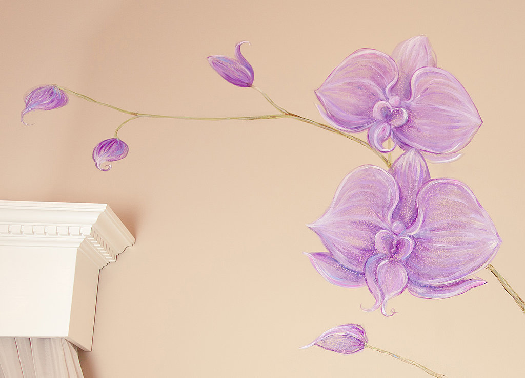Hand-Painted Orchids