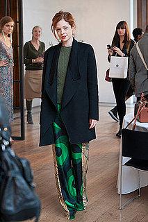 Spring 2012 London Fashion Week Street Style