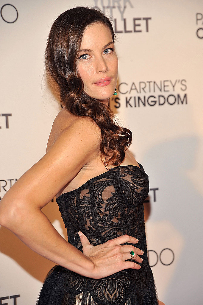 Liv Tyler at the opening of Ocean's Kingdom.