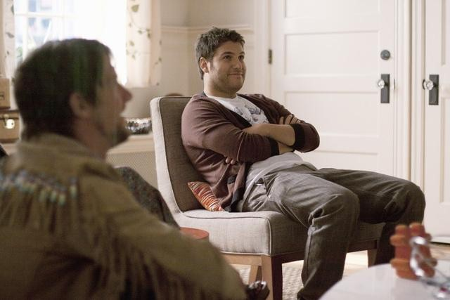 Zachary Knighton as Dave and Adam Pally as Max on Happy Endings.</p> <p>Photo copyright 2011 ABC, Inc.