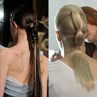 Ponytails at New York Fashion Week: Spring 2012 Hair Trends