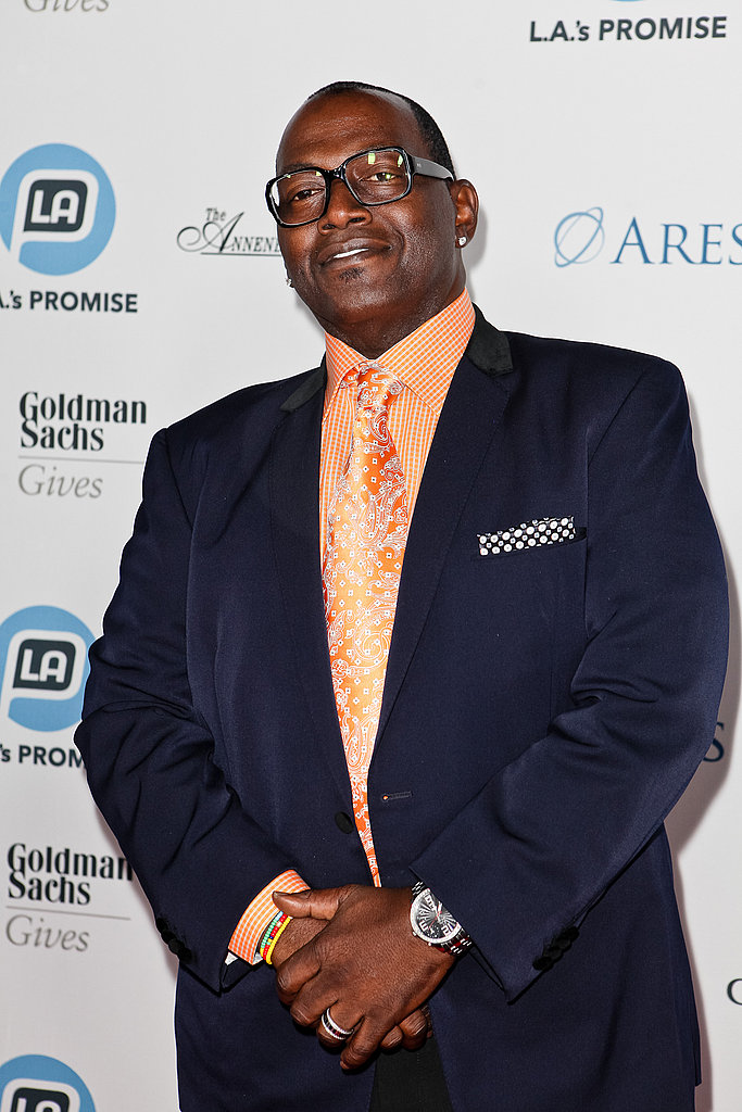 Randy Jackson posed on the red carpet at the Promise Gala in LA.