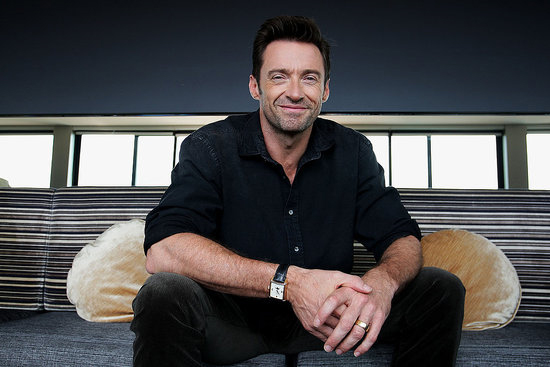 Hugh Jackman was all smiles at a photo call for Real Steel in Sydney on Sept. 27.