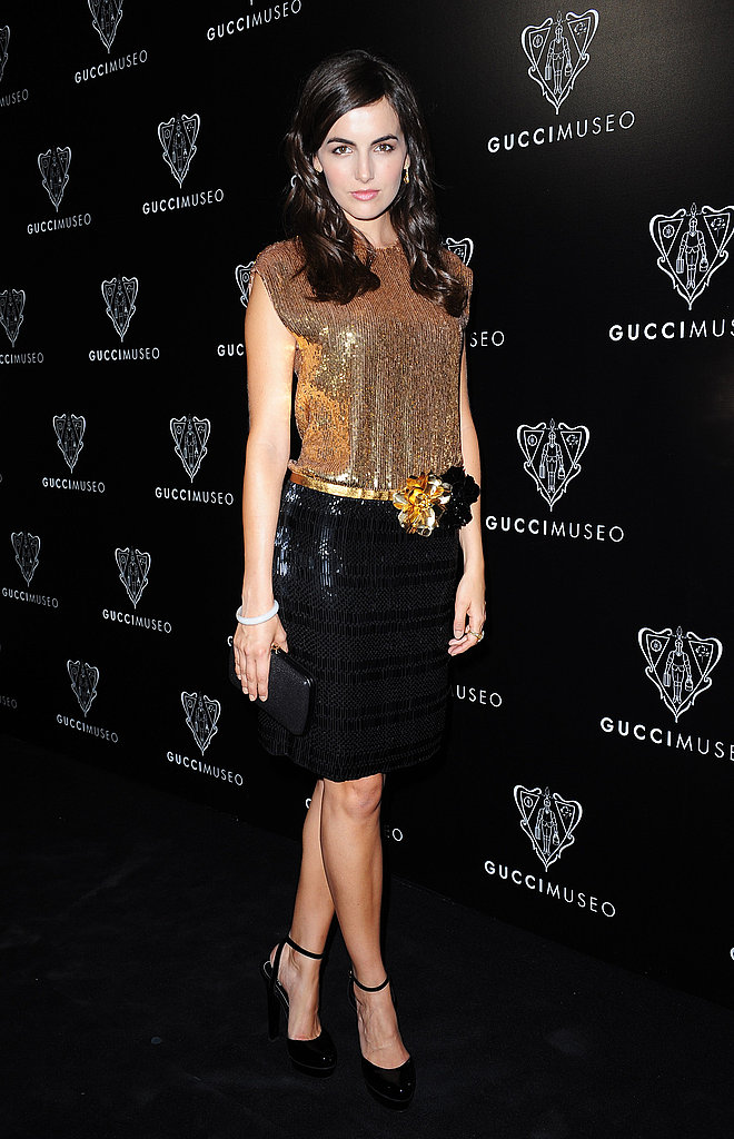Camilla Belle showed why she's always one of the best dressed at the Gucci Museum opening in Florence on Sept. 26.