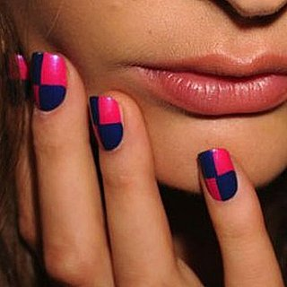 Nail Polish, Nail Art at New York Fashion Week Spring 2012