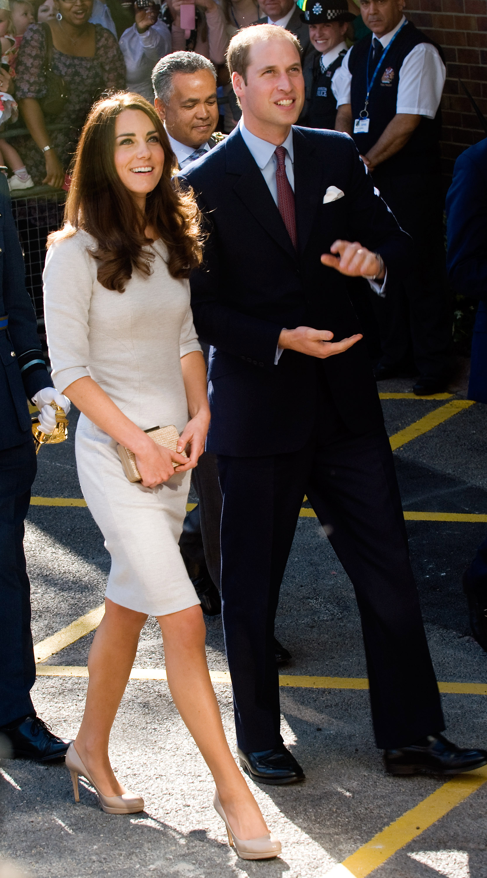 Kate Middleton and Prince William took in the Oak Center For Children and Young People.