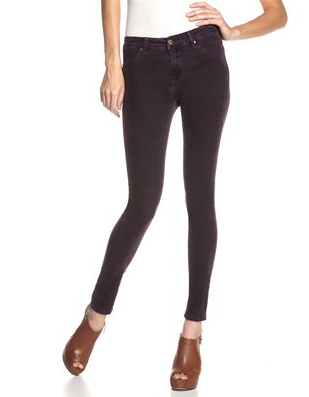No Fall wardrobe is complete without a cozy pair of cords; but these go the extra mile with a sexy, skinny fit. Blank Skinny Corduroy Pants ($86)