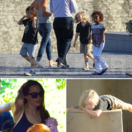 The Jolie-Pitts Follow Another Legoland Adventure With a Tower of London Visit