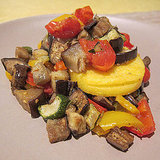 Baked Ratatouille Recipe With Polenta