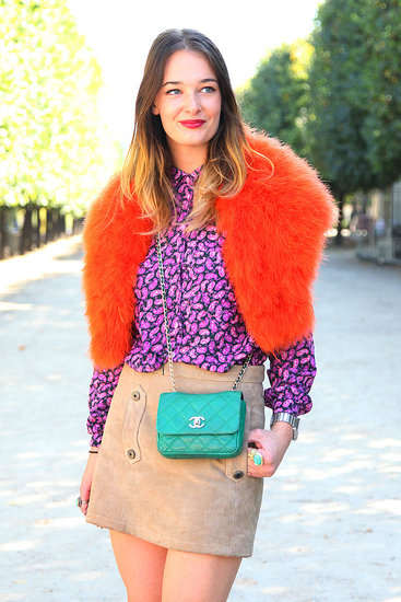 Spring 2012 Paris Fashion Week Street Style: Day 3