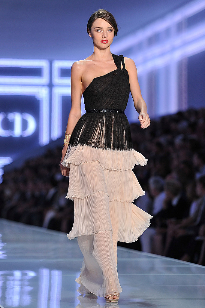 Miranda Kerr at Christian Dior