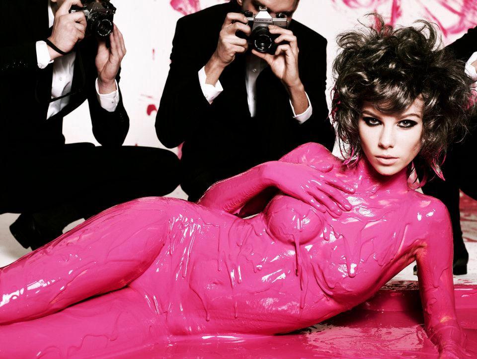 Top Model Body Paint Next Top Model Pink Paint