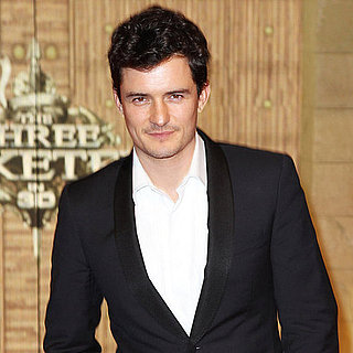Orlando Bloom at Three Musketeers Premiere London Pictures