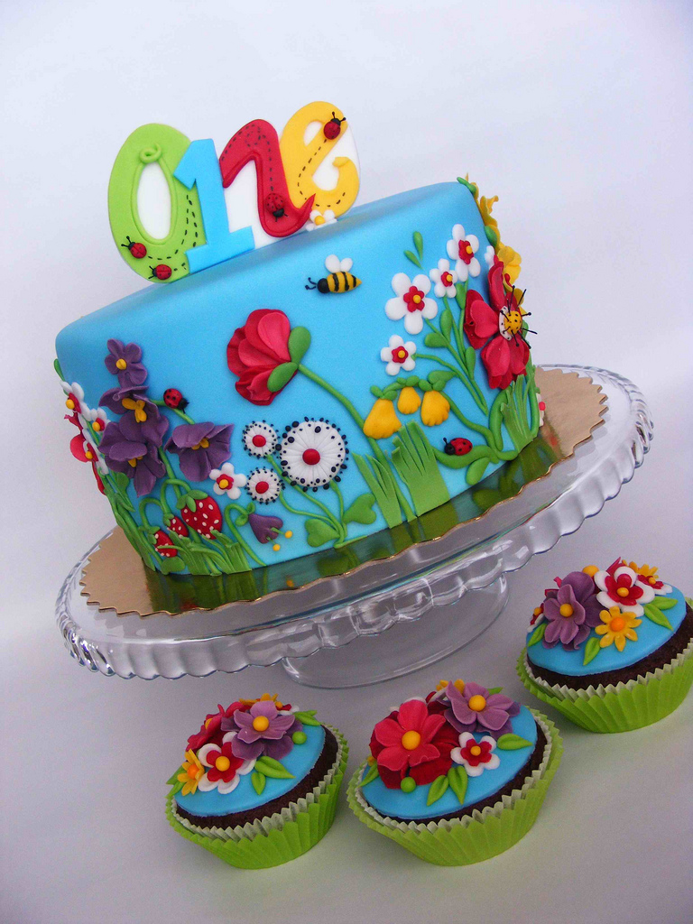 Summer Flowers Cake 70+ Fabulous And Unique Birthday Cakes For Kids .