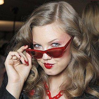 Models Backstage at Fashion Week