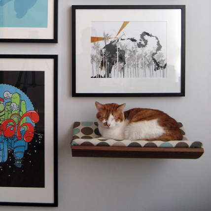 Wall-Mounted Pet Beds Are Perfect For Apartment Living