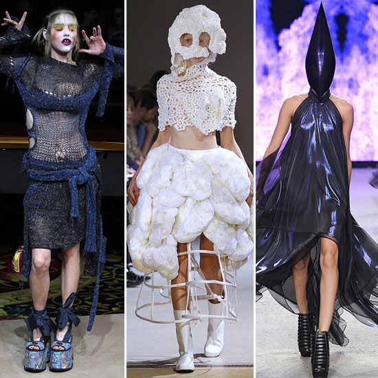 Pictures of the 20 Most Outrageous Looks from Fashion Week in Milan, Paris, New York and London