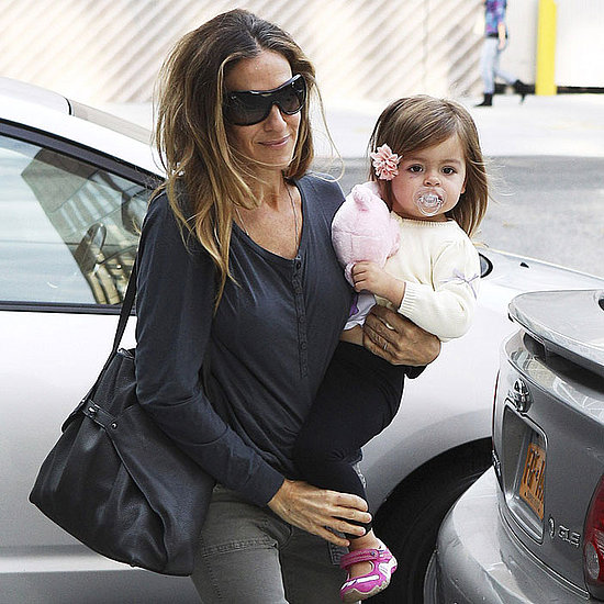 Sarah Jessica Parker With Marion and Tabitha in NYC Pictures