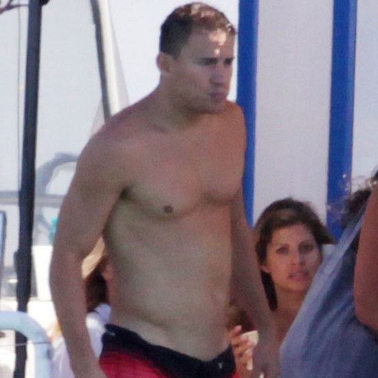 Shirtless Matthew McConaughey and Channing Tatum Pictures