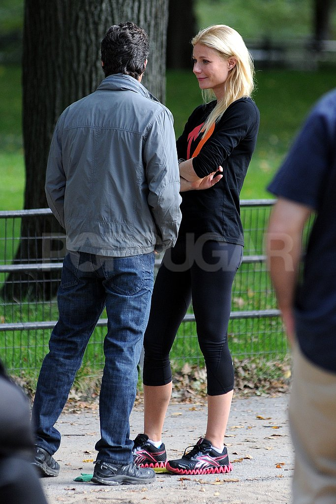 Gwyneth Paltrow and Mark Ruffalo filmed scenes for Thanks For Sharing.