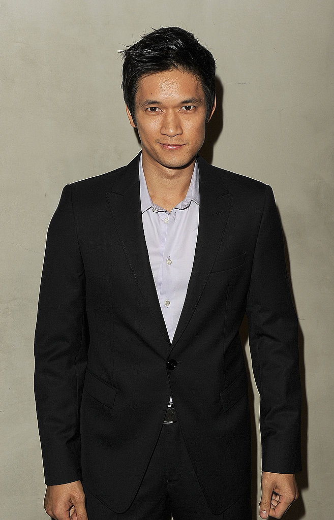 Harry Shum Jr. was among the attendees at Vanity Fair and Armani's private dinner in LA.